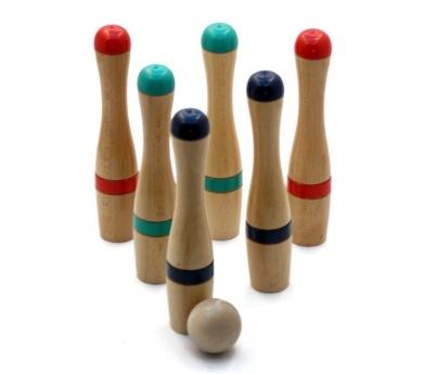 Joc de Bitlles de Fusta