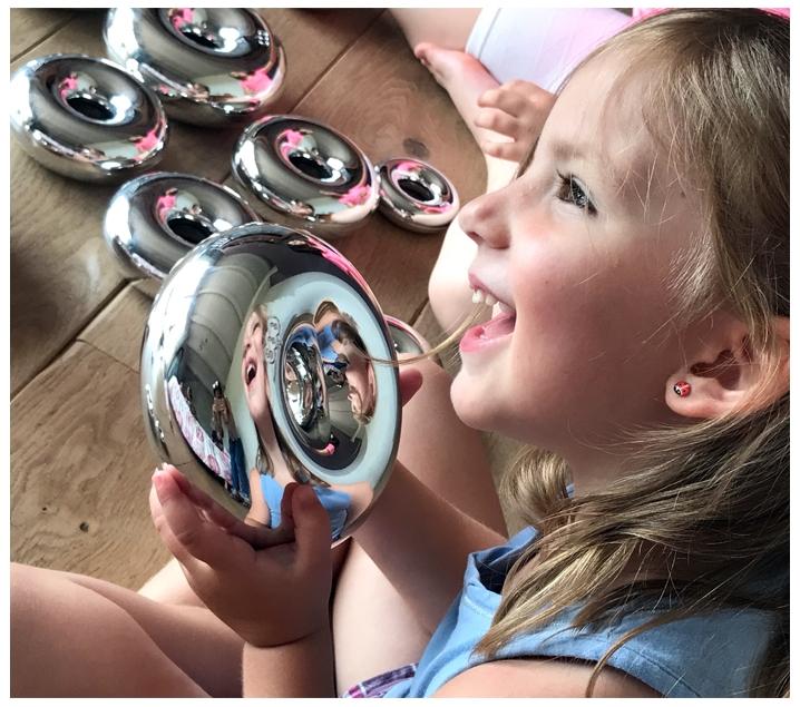 Aros sensoriales efecto espejo - Pintaunas efecto espejo ...
