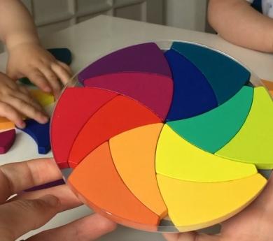 Rueda de color Trigeod