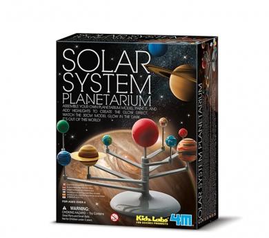 Kit para construir el sistema solar