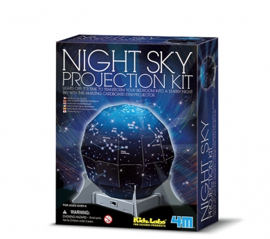 Kit para construir un proyector estelar