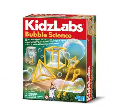 Kit de experimentación con burbujas