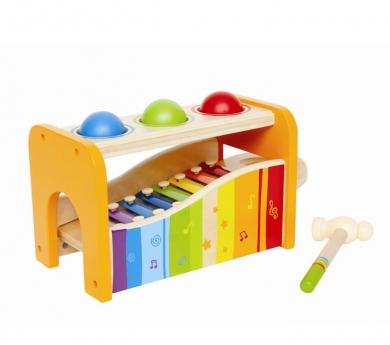 Picafuerte de madera con xilofón