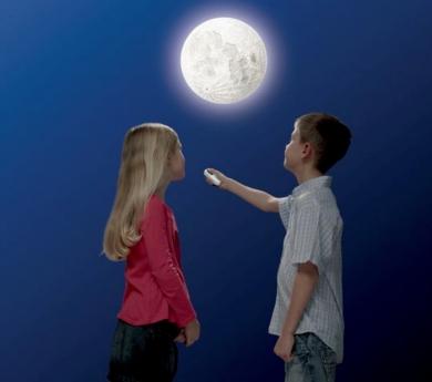 La lluna a la teva habitació