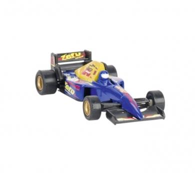 Coche de carreras metálico de juguete