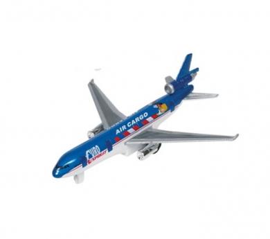Avión metálico de juguete