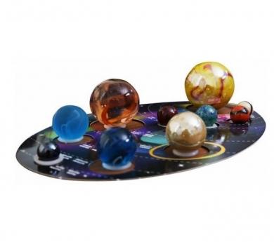 Colección de canicas del sistema solar