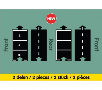 Carretera flexible extensión Parking