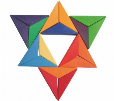 Puzzle mandala Estrella grande