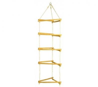 Escalera de Cuerda Triple