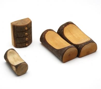 Cambra per la caseta de fusta i escorça