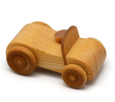 Cotxe esportiu de fusta
