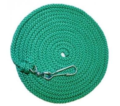 Cuerda larga con mosquetón