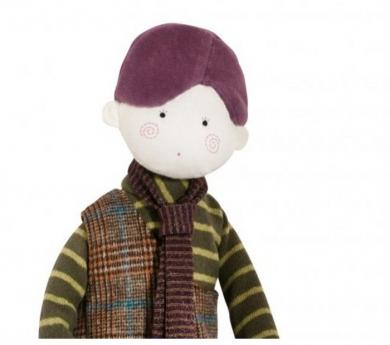 Muñeco de tela Marcel