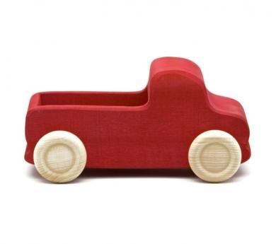 Camión de madera de carga