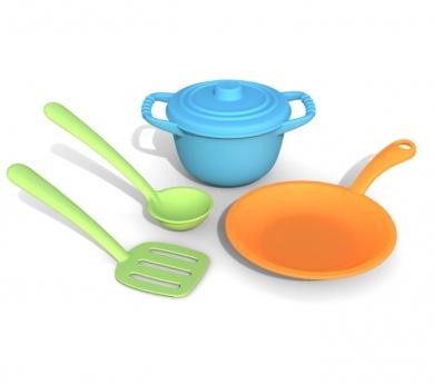 Cacharritos de cocina de plástico
