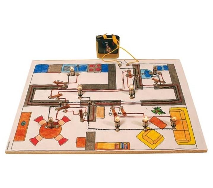 Circuito Juegos Para Niños : Circuito eléctrico para niños