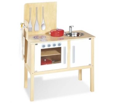 Cocinita moderna con pica