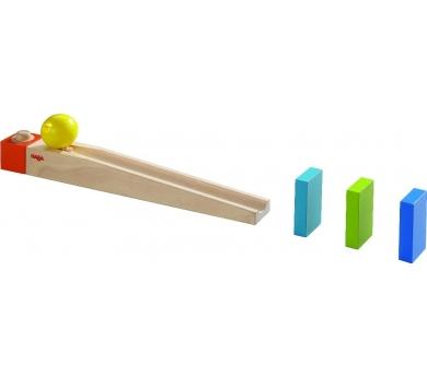 Rampa de inicio para el primer circuito de bolas