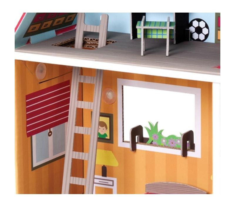 Casa de mu ecas con muebles for Muebles casa de munecas