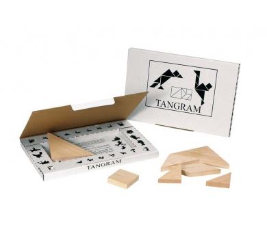 Tangram pequeño de madera