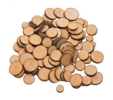 Círculos de madera