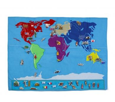 Mapa del món