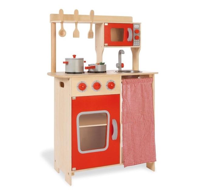 Cocinita con horno micro ondas y estanter as - Cocinita de madera segunda mano ...