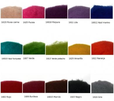 Lana Cardada colores individuales