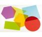 Formas geométricas de acrílico