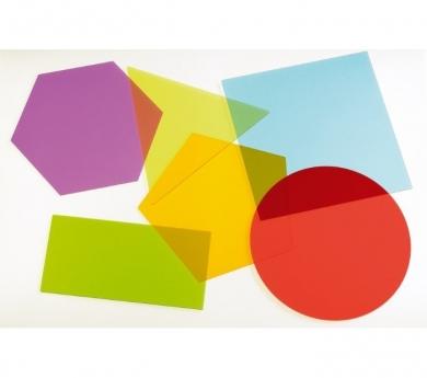 Formes geomètriques d'acrílic