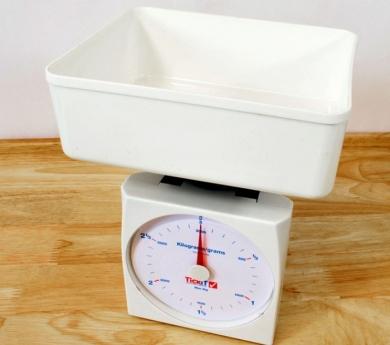 Balanza de plataforma 3 kgs.