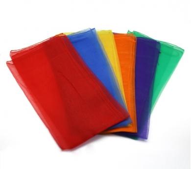 Conjunto de foulares de colores