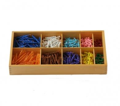 Decanomio - Perlas de colores