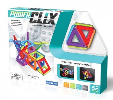 Juego magnético Clix 52 piezas