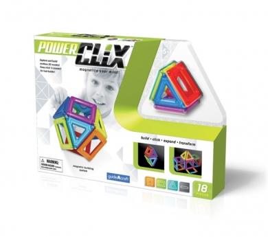 Juego magnético Clix 18 piezas