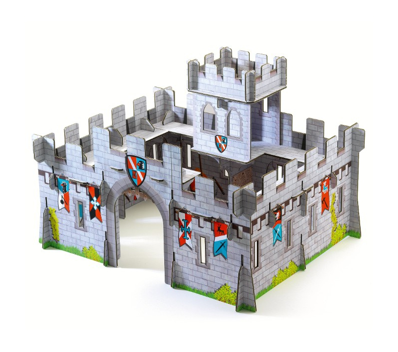 Castillo medieval pop to play djeco - Manualidades castillo medieval ...