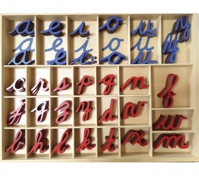 Alfabeto Móvil Cursiva