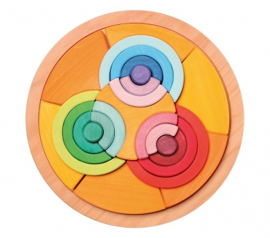 Mandala 6 círculos