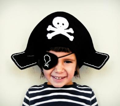 Kit de costura disfraz de pirata