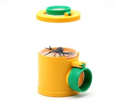 Observador de insectos triple