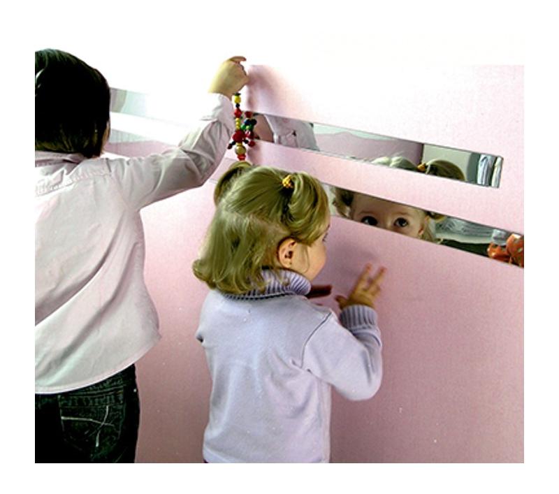 Tiras de espejo de seguridad for Espejo seguridad bebe
