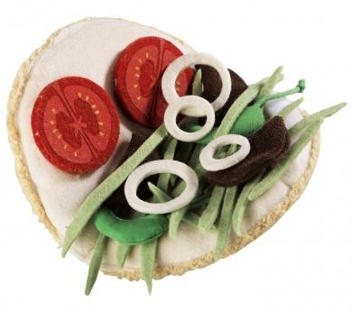 Kebab de tela juguete