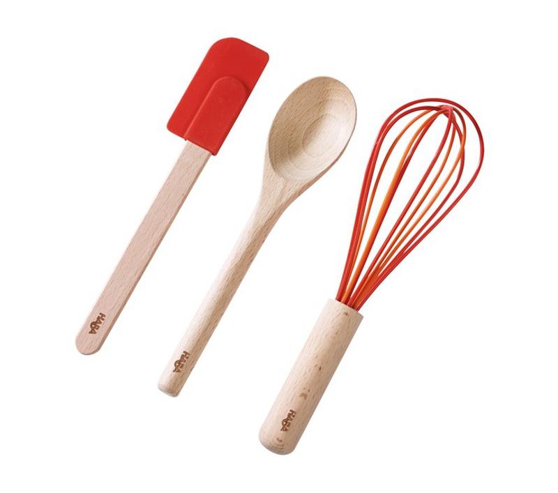 utensilios de cocina reales para ninos