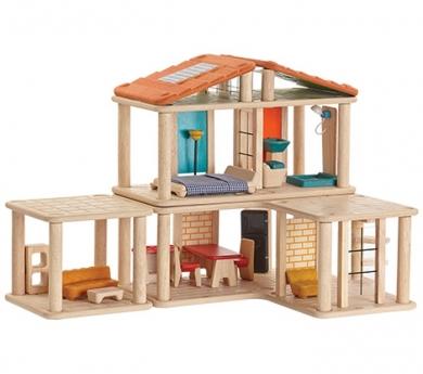 Casa creativa con muebles