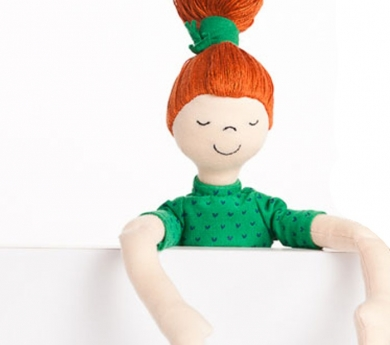 Muñeca de tela Hanna