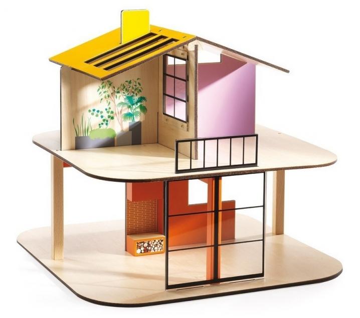 Casa de munecas color house djeco - Munecos para casa de munecas ...