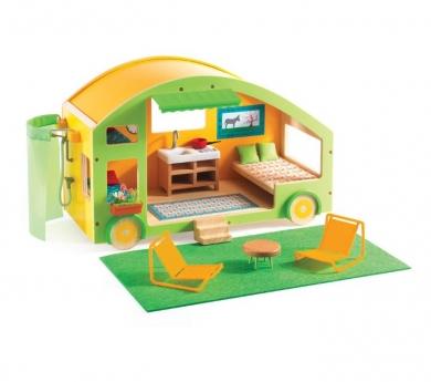 Caravana de juguete