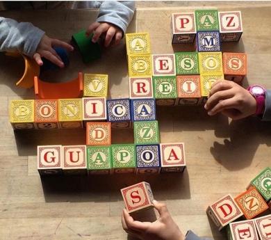 Cubs de fusta alfabet