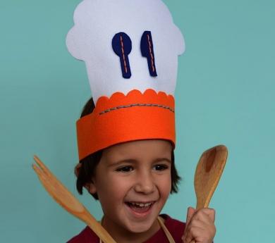 Kit de costura sombrero de Chef